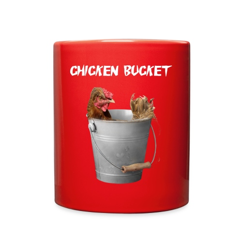 Chicken Bucket Red Mug - Full Color Mug