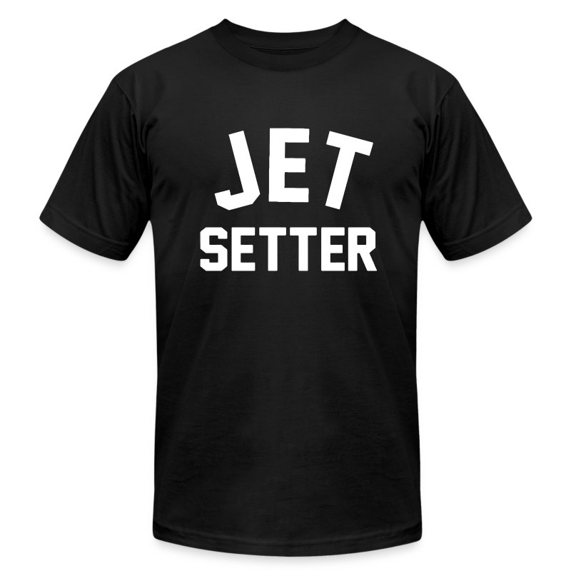 JET SETTER - Men's T-Shirt by American Apparel