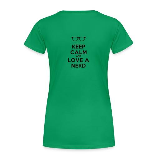 Womens NerdLove T-Shirt - Women's Premium T-Shirt