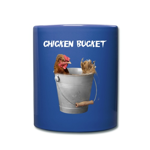 Chicken Bucket Blue Mug - Full Color Mug