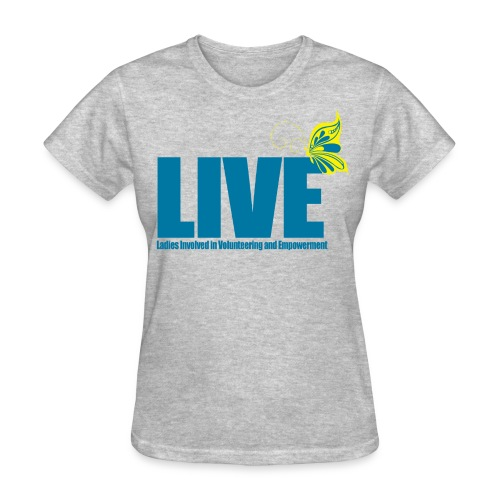 LIVE Logo Women's T-Shirt - Women's T-Shirt
