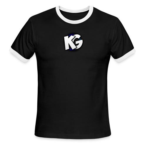KryptiK GaLaxy YouTube T-Shirts - Men's Ringer T-Shirt