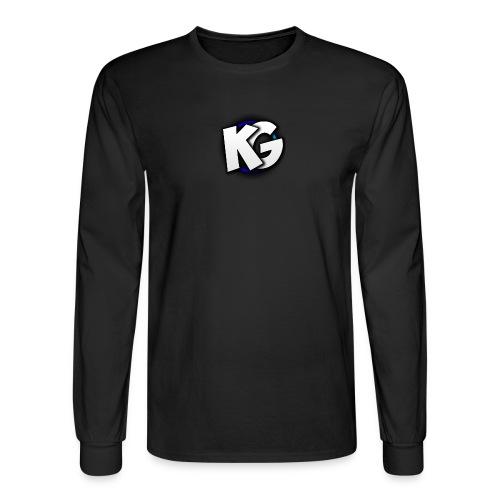 KryptiK GaLaxy YouTube Long Sleeve Shirts - Men's Long Sleeve T-Shirt