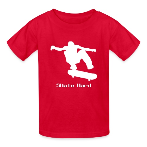 Kid's - Skate Hard - Kids' T-Shirt
