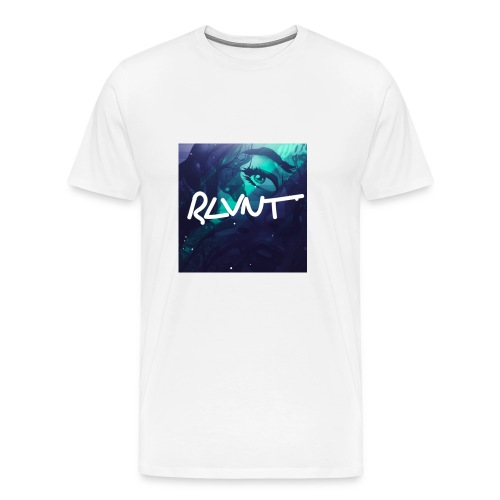 RLVNT White T - Men's Premium T-Shirt