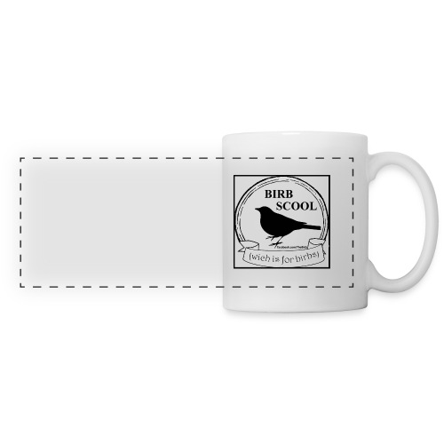 birb scool mug - Panoramic Mug