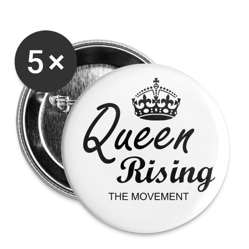 QUEEN RISING THE MOVEMENT Button - Buttons large 2.2'' (5-pack)