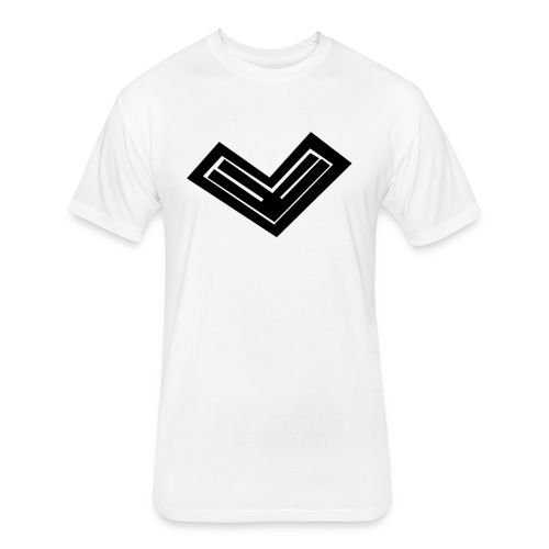 Swny Logo Tee - Fitted Cotton/Poly T-Shirt by Next Level