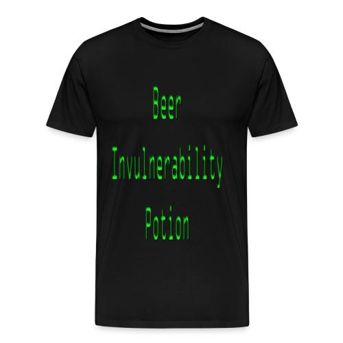 Beer invulnerability poti - Men's Premium T-Shirt