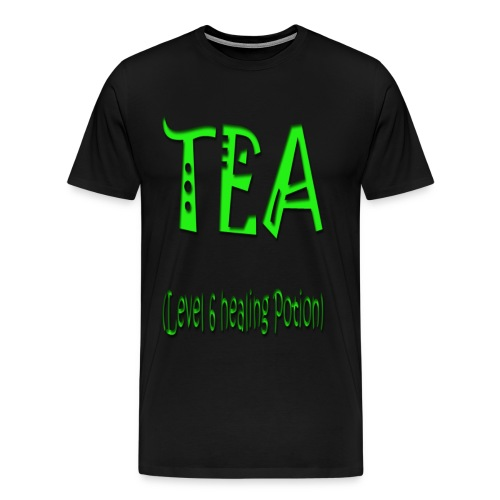 Tea level 6 healing potio - Men's Premium T-Shirt