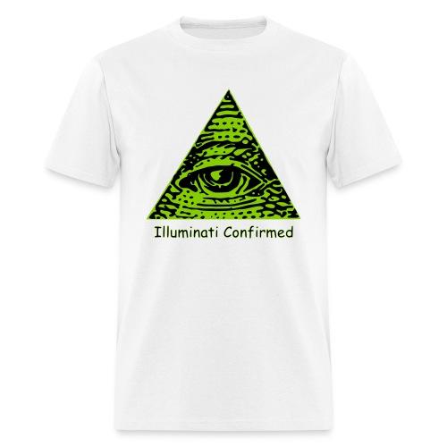 Illuminati Confirmed Meme T-Shirts (Men) - Men's T-Shirt