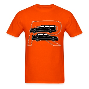 Volvo 850R T5-R Swedish Turbo Black Outline - Men's T-Shirt