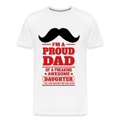 Proud Dad - Men's Premium T-Shirt