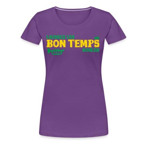 Louisiana Bayou Born Fool! - Women's Premium T-Shirt