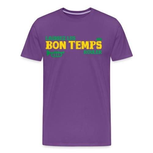 Louisiana Bayou Born Fool! - Men's Premium T-Shirt