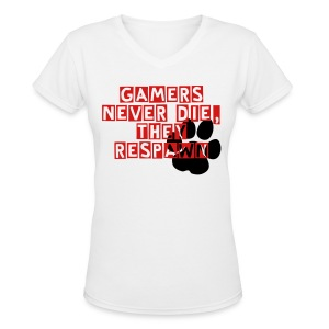 Women V-Neck Shirt - Women's V-Neck T-Shirt