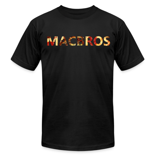 MacBros Slim Fit Tee - Men's Fine Jersey T-Shirt