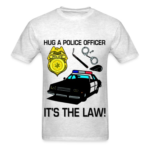 Hug A Cop Tee - Men's T-Shirt