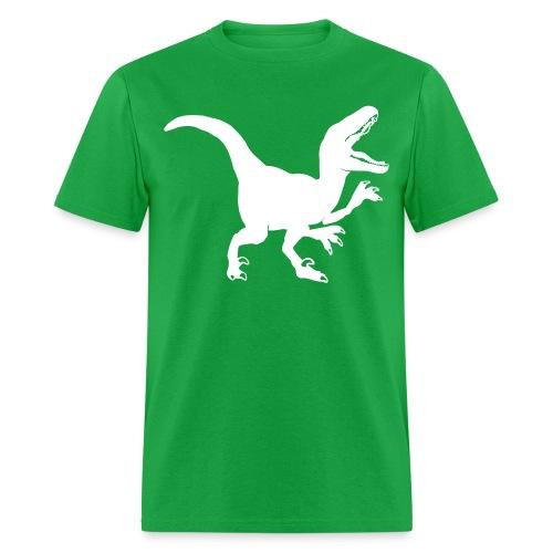 Custom Raptor Dinosaur - Men's T-Shirt