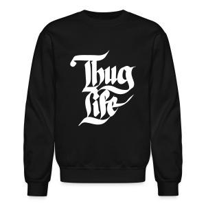Thug Life Casual Crewneck - Crewneck Sweatshirt