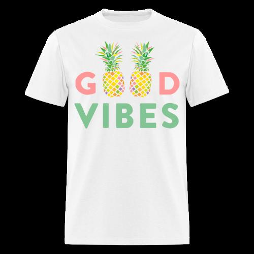 Good Vibes Pineapple Tee - Men's T-Shirt