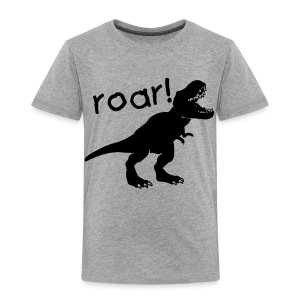 Custom T-rex Dinosaur - Toddler Premium T-Shirt