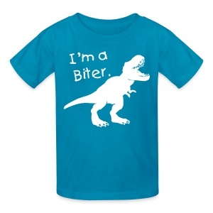Custom T-rex Dinosaur - Kids' T-Shirt