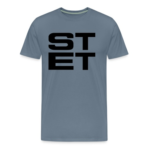 GO STETSA GREY - Men's Premium T-Shirt