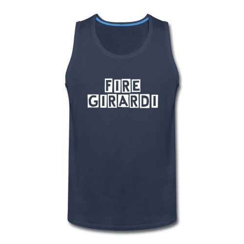Fire Girardi Men's Tank Top - Men's Premium Tank
