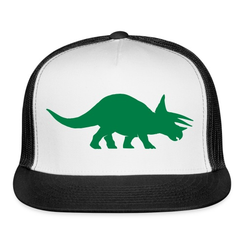 Custom Triceratops Trucker Cap - Trucker Cap