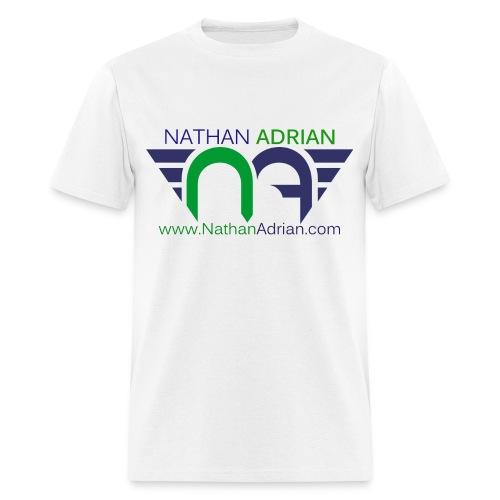 Logo/Website on Front, #StayCool on Back - Men's T-Shirt