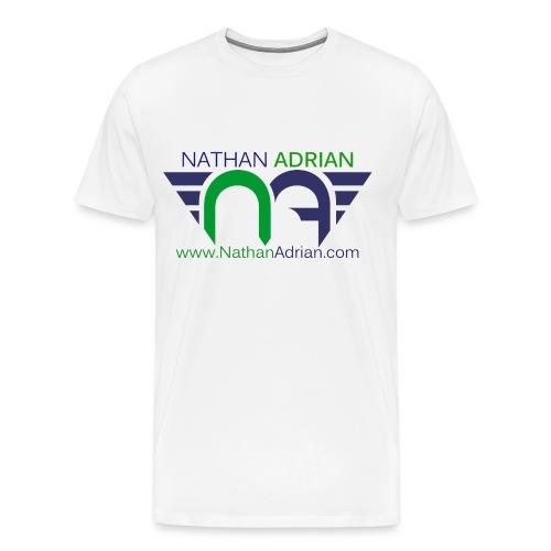 Logo/Website on Front, #StayCool on Back - Men's Premium T-Shirt