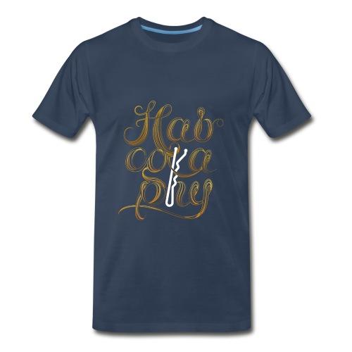 Hairography Blonde - Men's Premium T-Shirt