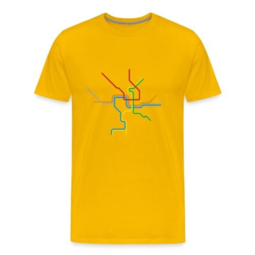 Metro Tee - Men's Premium T-Shirt