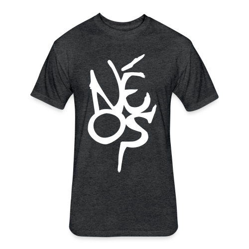 Néos Scribble - Fitted Cotton/Poly T-Shirt by Next Level
