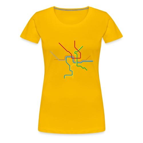 Metro Tee - Women's Premium T-Shirt