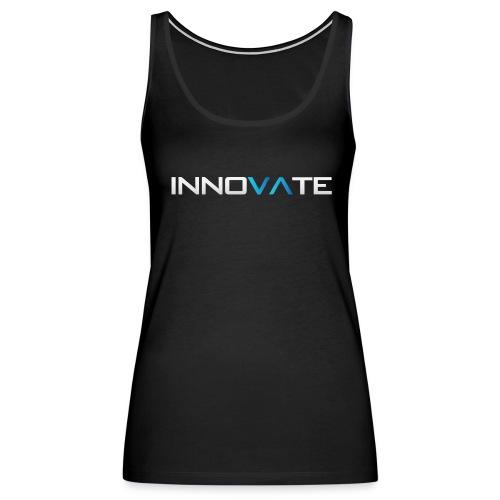 Women's Innovate Black Tank Top - Women's Premium Tank Top