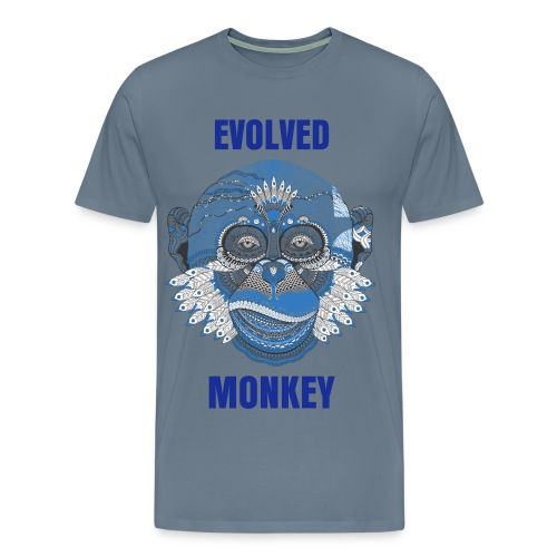 Evolved Monkey - Men's Premium T-Shirt