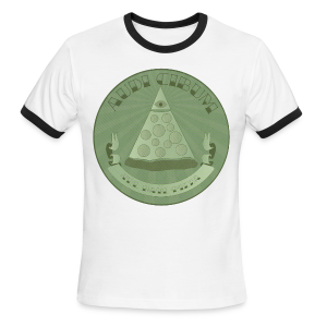 All Hail Pizza Men's Ringer Tee - Men's Ringer T-Shirt