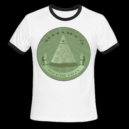All Hail Pizza Men's Ringer Tee - Men's Ringer T-Shirt