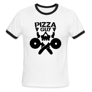 PizzaGuy Club Men's Ringer Tee - Men's Ringer T-Shirt