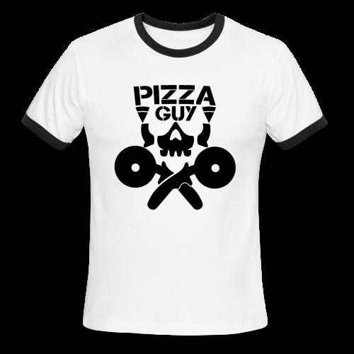 PizzaGuy Club Men's Ringer Tee - Men's Ringer T-Shirt