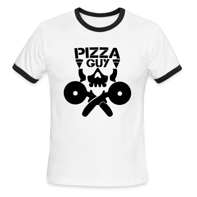 PizzaGuy Club Men's Ringer Tee