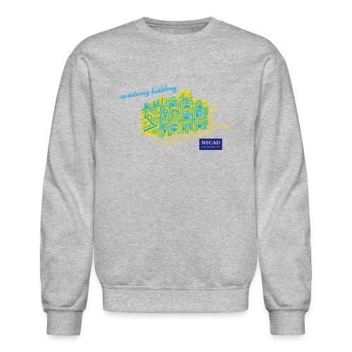 Academy Campus (Crewneck Sweatshirt) - Crewneck Sweatshirt