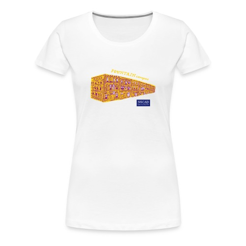 Fountain Campus (Women's T-Shirt) - Women's Premium T-Shirt