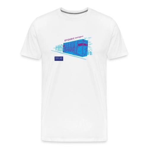 Port Campus (Men's T-Shirt) - Men's Premium T-Shirt