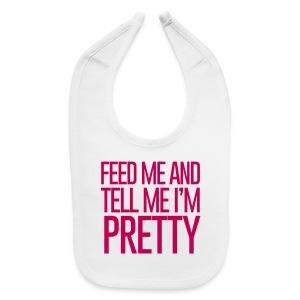Pretty Hungry Baby - Baby Bib