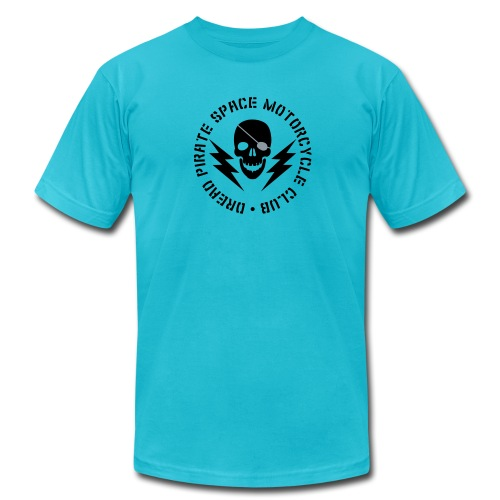 Dread Pirate Space Motorcycle Club - Men's Fine Jersey T-Shirt