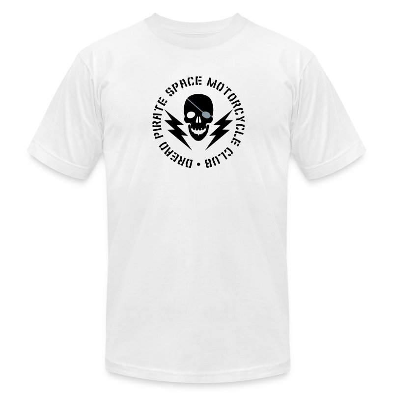Dread Pirate Space Motorcycle Club - Men's T-Shirt by American Apparel