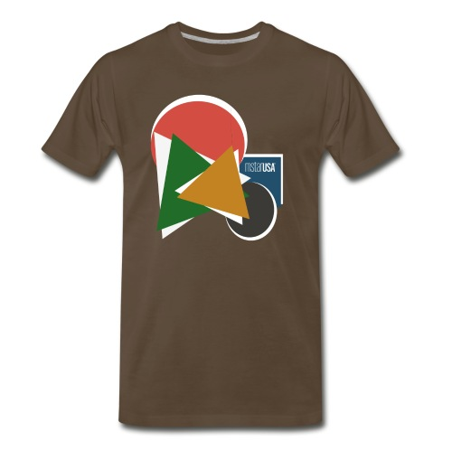 Bauhaus Color Design mstarUSA - Men's Premium T-Shirt